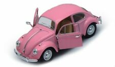 1967 Volkswagen Classical Beetle, Pastel Pink 1/32 scale Diecast Model Toy Car