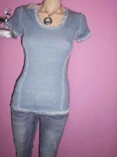 Damenblusen, - tops & -shirts aus Baumwolle mit Rüschen in Größe 38