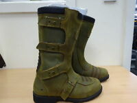MERLIN CLAN BOOT BROWN LEATHER MENS MOTORCYCLE BOOTS