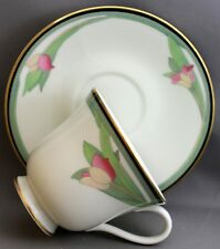 ROYAL DOULTON TEACUP AND SAUCER-VOGUE COLLECTION AWAKENING K 99