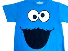 Sesame Street Shirt 2009 Cookie Monster Shirt Blue Tee Sesame Street tee S