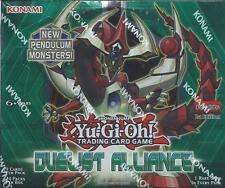 Yugioh English 1st Edition Duelist Alliance Booster Box Sealed 6 available!