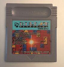 Tetris Flash (Nintendo Game Boy Game) Japan Import