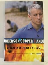 ANDERSON COOPER  Signed DISPATCHES FROM THE EDGE hardcover BOOK