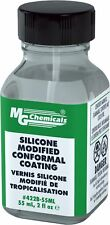 MG Chemicals Silicone Modified Conformal Coating, 55 ml Bottle with Brush Cap