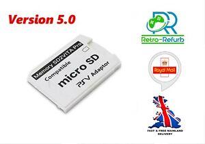 SD2VITA Pro Micro SD Adapter For PS VITA  Latest Ver 5.0 - UK FAST FREE POST