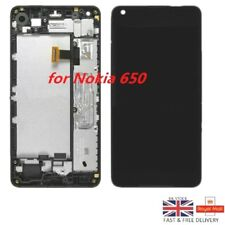 New OEM Nokia Microsoft Lumia 650 LCD Touch Screen Display Digitizer + Frame