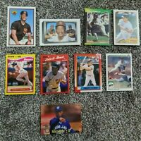 Roberto ALOMAR 11-card LOT HOF Orioles Blue Jays PADRES Mint 1989 Rookie Cards