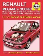 Renault Megane Scenic Haynes Manual 99-02 1.4 1.6 2.0 Pet 1.9 Diesel NEW SEALED