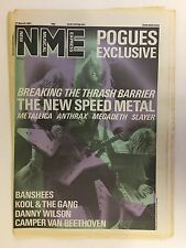 NEW MUSICAL EXPRESS NME MAGAZINE  21 MARCH 1987  METALLICA  ANTHRAX  LS