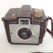 Vintage Kodak Brownie Holiday Camera Brown Bakelite Photography Photos 50s 1950s