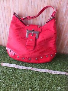 Miss Sixty Red Handbag Vintage Y2K 90's