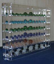 sudu® Sammelvitrine Setzkasten Schaukasten Acrylglas verschiedene Murmeln