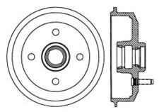 Brake Drum-Premium Brake Drums Centric 122.61027