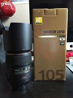 Nikon Micro-Nikkor 105mm f/2.8G AF-S VR IF-ED