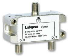 2-Way Active Splitter All Ports DC Pass 10-2300MHz + 12dB Gain