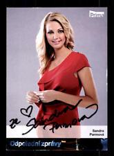 Sandra Parmova Autogrammkarte Original Signiert # BC 110443