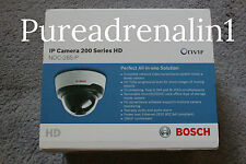 BOSCH NDC 265 P 720p IP DOME COLOR CAMERA 200 SERIES HD VARIFOCAL LENS  WIRELESS