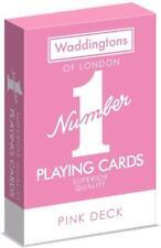 PINK - Waddingtons no.1 playing cards