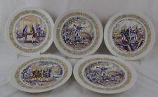 Henri D'Arceau Limoges 5 Marquis De Lafayette Collector Plates