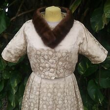 (2) VINTAGE WEARABLE FUR COLLARS c.1960s