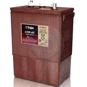 Trojan L16E-AC 6v 6 volt 370 AH solar rv Lead Acid ( deep cycle battery )