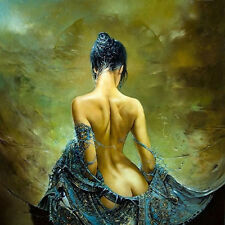 HD Print On Canvas Figure Oil Painting Picture Nude Art For Home Decor PR001