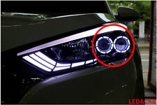 Head Lamp Light Surface emitting Custom Circle Eye For 2016+ Hyundai Tucson 4PC