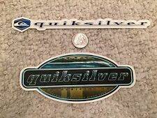 Quiksilver Sticker Collection - Lot of 2 - GREAT Stickers - Must See