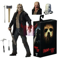 "NECA Friday the 13th 2009 Movie Jason Voorhees Ultimate 7"" Action Figure NIB"