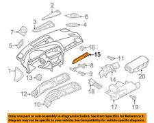 AUDI OEM A4 Quattro Instrument Panel Dash-Instrument Finish Panel 8K1853190Q1LQ