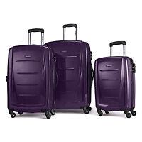 Samsonite Winfield 2 Fashion Hardside 3 Piece Spinner Set - Purple (56847-1717)