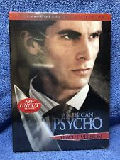 "Brand New ""American Psycho� (Dvd, 2005, Uncut Version) Stars Christian Bale"