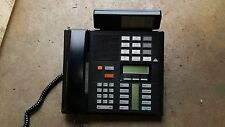 LOT OF (2) NORTEL NORSTAR MERIDIAN M7310 BUSINESS PHONES BLACK W/ NT8B91CA-03
