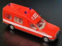 Herpa Miesen Bonna 124 Fire Brigade Ambulance - 1:87 HO Scale