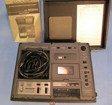 Sharp RD-685AV Pro Series Cassette Player Recorder - Projector Sync Dissolve VTG