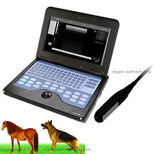Veterinary Animal Style laptop Ultrasound Scanner,B-ultrasuoni 7.5 sonda rettale
