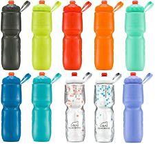 Polar ZipStream 24oz Insulated Bike / Cycling Sport Water Bottle Zip Stream