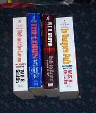 lot of 5 W.E.B. Griffin THE CORPS books II IV V VII VIII    list in description