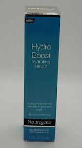 Neutrogena Hydro Boost Hydrating Serum 1 oz