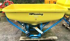 More details for fertiliser spreader tractor mounted 800l fleming wagtail  price includes vat
