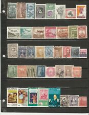 Bulk Lot #1 - 40 Different Stamps from Latin America