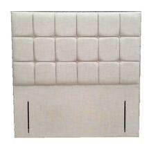 Cube Floor Standing Headboard Velvet,Suede,Chenille,Linen 3ft, 4ft6, 5ft, 6ft
