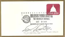 Don Demeter Autographed First Day Cover Envelope Auto