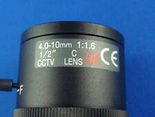 4-10MM manual CCTV Lens Camera Mega-pixel, Machine ver.