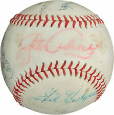 1960's Los Angeles Dodgers Greats Signed Autographed Baseball - 9 Signatures