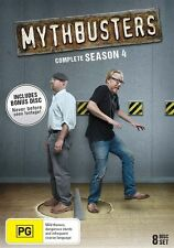 Mythbusters : Season 4 (DVD, 2014, 8-Disc Set)--REGION 4-Brand new-Free postage