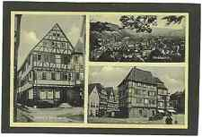 AK Mosbach Baden Gasthof zum Schwanen Palmsches Haus Auto Oldtimer