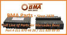 NEW LEFT POWER SEAT CONTROL MODULE FOR MERCEDES C, CLK & E CLASS # 211 870 46 26