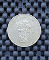 Vntage Sega Sonic The Hedgehog SegaWorld London Arcade Token Coin Rare SILVER